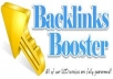 create 1630 High PR Authority Backlinks from statistics and whois sites to improve your alexa rankings