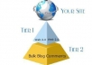 create ultimate Link PYRAMID of 50 High Pr Web 2 properties and profile plus 5020 backlinks to them