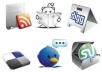 provide 600+ Social Bookmarking Services +Drip Feed +Spintax +Rss +Ping PR 8 to 0 Top social bookmark sites