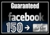 give you 250 facebook like on your facebook page only