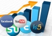 add Social bookmarking submission Manually to 200+ sites Including Top 50 sites + Rss + Ping + Google panda and penguin safe