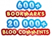 create Panda and Penguin Safe Super Social Link Pyramid , Social Pyramid with Over 600 bookmarks boosted by 20 000 blog comments just