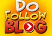 provide 1PR6+ 3PR5+5pr4+6PR3 Dofollow Actual PR pages blog commenting only