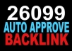 create AMAZING 26199 Auto Approve Backlink for your website to Boost Search Ranking In Googlee Search Guarantee And Google Penguin Friendly
