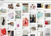 share 6 images of your choice to my 4200+ Pinterest followers 900+ FB fans and 1400+ Twitter friends 