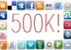 tweet your message to over 500,000 friends on my Social Networks 