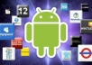give you TEN positive ANDROID reviews rated with 5 stars for your free Android App on google play