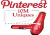 pin/repin your website or favorite pin 50 pinterest accounts