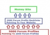 create 7000 Backlink Pyramid, 5000 Forum Profiles Pointing To 2000 Anchor Text Profiles To Your Site within a week