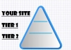 build crazy link pyramid with 2222 links in totalbuild crazy link pyramid with 2 222 links in total within 3 days