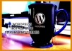 Install wordpress manually on your website
