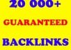 create 20 000+ Live BACKLINKS Using Scrapebox for unlimited urls and keywords within 2 days