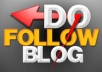 make 38 Do follow blog Comments on high PR pages 10PR1 + 10PR2 + 10PR3 + 5PR4 + 2PR6