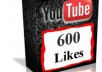 Provide you 600 likes to your youtube video 