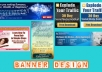 make you a clickable banner for your blog or website 