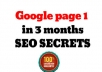 build Penguin Safe Link Wheel for your page For the FIRST page in Google Search in Less than a Month