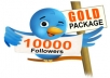 send you 10,000+ Twitter followers