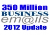 Give You 350 Million Fresh Emails Database of 2012 Year