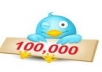 tweet your message, ad, promotional link to my 100000+ followers with proof, all within a day
