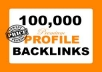 manually Build 100000 High PR Backlinks