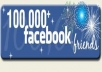 promote your product,business,personal information to my 100000 facebook friends,another 3000000 fans of different popular pages within 2 weeks