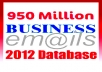 Give You 950 Million Fresh Emails Database of 2012 Updated