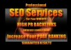 make 52,000+++blog comment backlinks*** Best SEO Provider on SEOCLERKS***