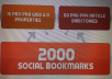 create 75 PR3 to PR8 seo LlNKWHEEL and 2000 social bookmarking backlinks for