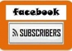 provide 100% real 400+ facebook subscriver for your new fan page