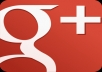 add your GOOGLE Plus id to a special circle then share it with 20,302 gplus followers, one of the top circles out there send you link