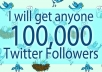 add Very Fast 100,000 twitter followers in 48hours