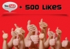 give you 500+youtube likes on your youtube video believe me 100%real,not bot just