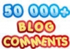 build 50500 MASSIVE blog comment backlinks
