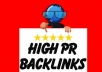 Create a Feed & Ping 40 HIGH PR7-PR4 Dofollow Profile Backlinks Properties