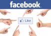 give you 500+ facebook likes all are real and different standard human in your fan page/site etc....  