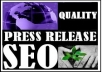 Manually 100% submit your press release content to ATLEAST 35 press release , 50 social bookmark , 20 wiki group