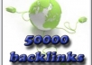 significantly Boost Your Site Ranking By Building 50k SEO Backlinks