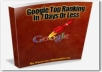 show you how to get top 7 ranking in google