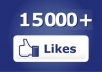 give you GUARANTEED 15000 facebook fans/likes to your fan page without admin access or any password