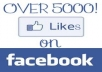 give You 5500+ Facebook Likes to any Link (ONLY for Fan Page)  without admin access