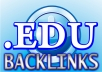 create 100 EDU BACKLINKS, nofollow, links from blog comments made with scrapebox