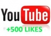 give you 300 youtube like on your video real like 100% real
