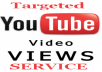 provide 1000+ Real and Targeted Youtube Video Views with some Likes in less than 48 hours
