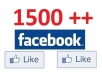 add 1500+ quality likes to your facebook fans fanpage without admin access