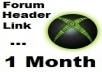 put your link under my PR2 forum header for 1 month