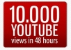 give you 20000 youtube views plus 30 likes, 20 subscribers and 10 favorites in Short Time