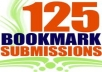 submit your site on 125 social bookmarking sites (buy 2 get 1 free)
