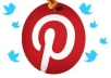 share 25 images of your choice to my 5k+ Pinterest followers