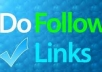 build you 500 dofollow backlinks 