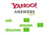improve your website on Yahoo answers